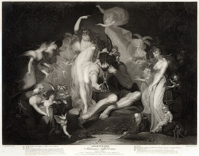 fuseli, midsummer night's dream
